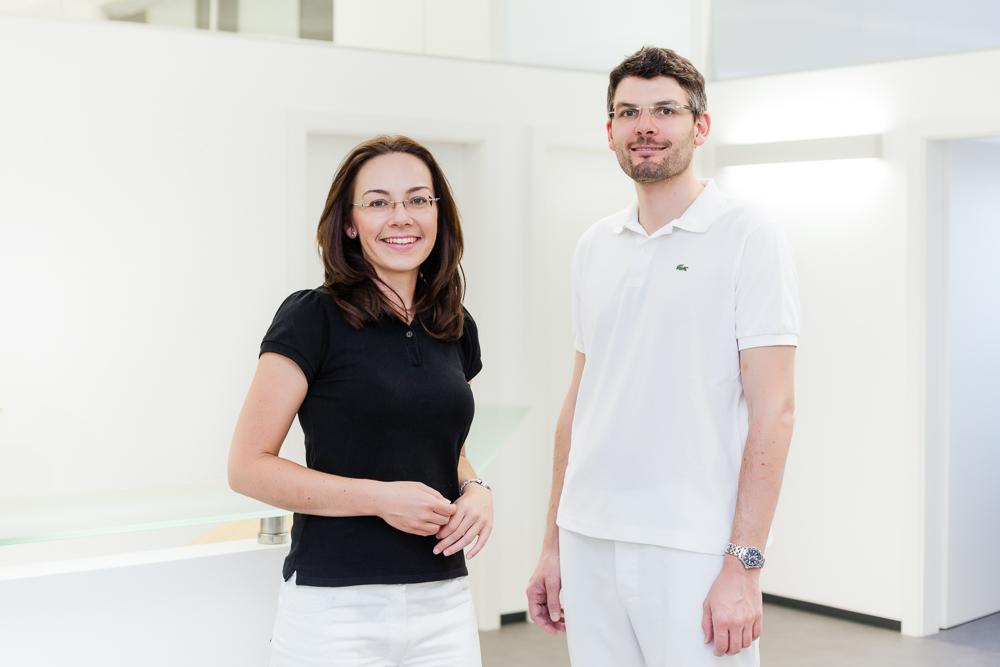 Dr. Julia Biffl und Dr. Maximilian Sailer-Kronlachner